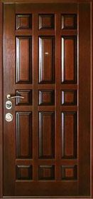 двери металлические с филенкой